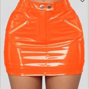 Orange fashion Nova Skit